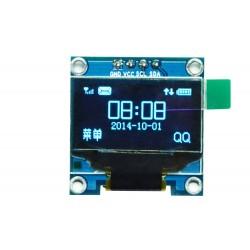 "Grafinis 128x64 0,96"" mėlynas OLED ekranas"