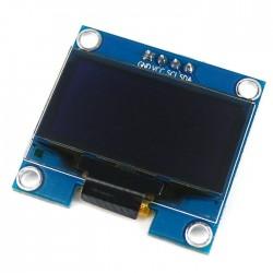 "Grafinis 128x64 1,3"" mėlynas OLED ekranas"