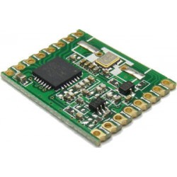 RFM69HW siųstuvo/imtuvo modulis 433MHz