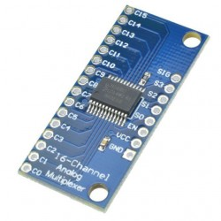 16 kanalų analoginių signalų multiplekserio/demultiplekserio CD74HC4067 modulis