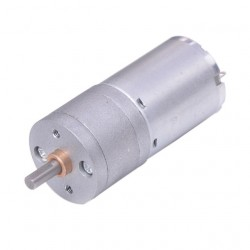 DC variklis su reduktoriumi JGA25-370 6V 954rpm