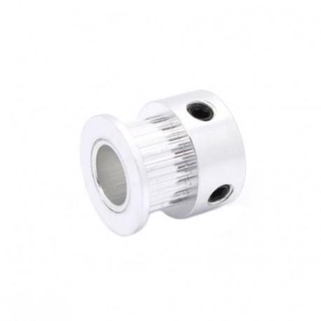 20 dantų krumpliaratis 8 mm ašims (tinka Nema17) 6mm sinchronizavimo diržams GT2