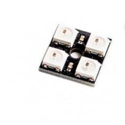 2x2 RGB LED matrica su valdikliu WS2812
