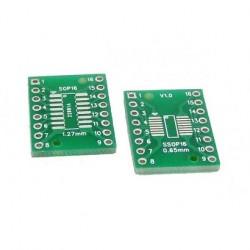 SOP16 SSOP16 TSSOP16 SMD į DIP16 adapteris