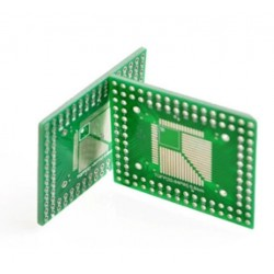 QFP FQFP TQFP LQFP 32/44/64/80/100 SMD į DIP16 adapteris