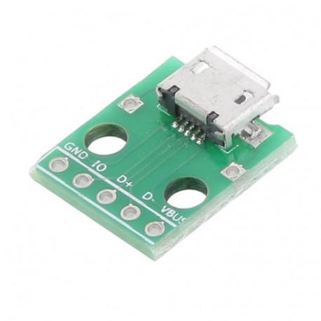 Micro USB jungties modulis