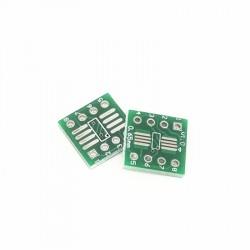 SOP8 SSOP8 TSSOP8 SMD į DIP8 adapteris