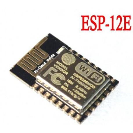 ESP-12E WiFi modulis su ESP8266 ir integruota antena