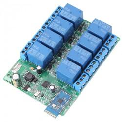 8 kanalų Bluetooth relių modulis 5-12V