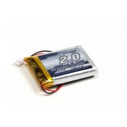 Turnigy 2000mAh 1S 3,7V 1C LiPo akumuliatorių baterija su apsaugos moduliu