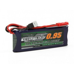 Turnigy nano-tech 950mAh 1S 3,7V 25-50C LiPo akumuliatorių baterija