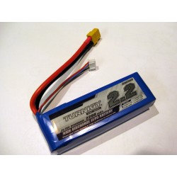 Turnigy 2200mAh 11,1V 3S 25C-35C LiPo akumuliatorių baterija