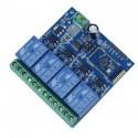 4 kanalų Bluetooth relių modulis 5V