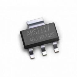 AMS1117-ADJ įtampos reguliatorius (LDO) iki 800mA