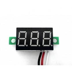 Skaitmeninis DC mini voltmetras 0 - 30V