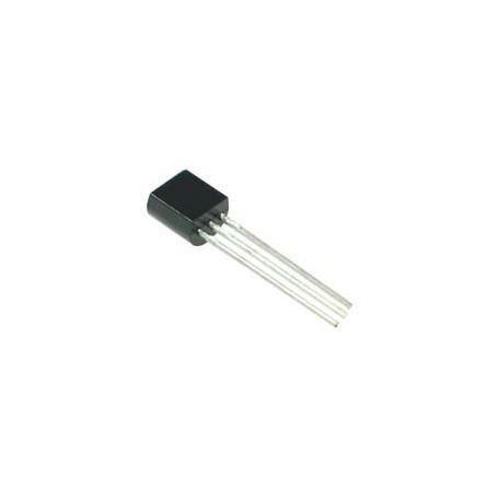 BC327 tranzistorius (PNP 45V 800mA 100MHz 625mW TO-92)