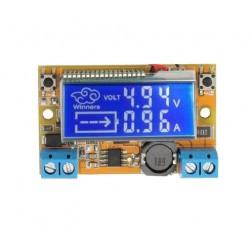 Step-down maitinimo šaltinis iki 3A iki 17V su LCD