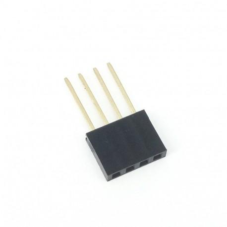 Arduino lizdų-kontaktų juosta 2,54mm 1x6p