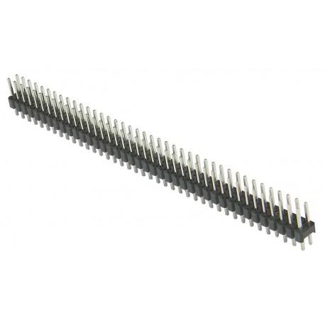 Kampinė kontaktų juosta 2,54mm 40p