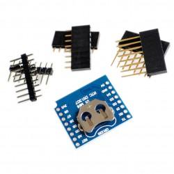 WeMos D1 mini RTC plokštė su DS1307