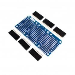 WeMos D1 mini 3 modulių praplėtimo plokštė