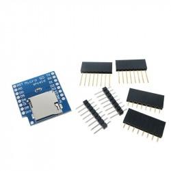 WeMos D1 mini micro SD kortelės plokštė