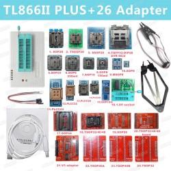 Programatorius TL866II Plus su 26 adapteriais(XGECU MiniPro)