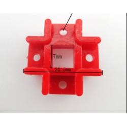 Tvirtinimo elementas - sijų kryžmė 22 x 22 x 13 mm
