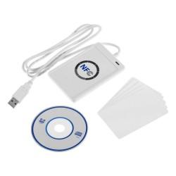 NFC ACR122U 13,56MHz RFID skaitytuvas-emuliatorius ir 5 perrašomos kortelės