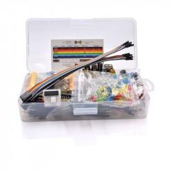Elektronikos komponentų rinkinys E24 fun kit plastikinėje dėžutėje