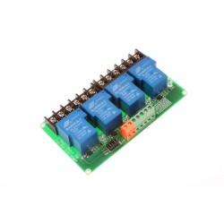 4 kanalų 5V relių modulis 30A