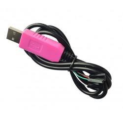 RS232 UART TTL konverteris su CP2102 (USB)