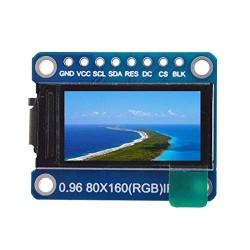 0,96 colio TFT LCD modulis su ST7735
