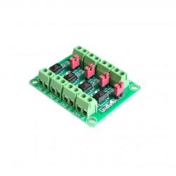 PC817 4 kanalų optrono modulis
