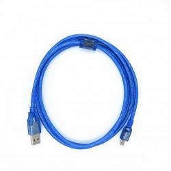 MiniUSB duomenų kabelis (1,5m)