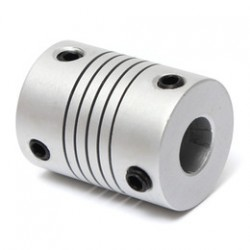 Amortizuojanti variklio ašies jungtis 4 mm / 8 mm