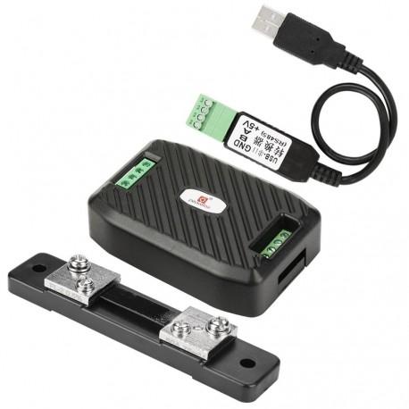 RS485 ir USB elektros energijos skaitiklis su 50A šuntu
