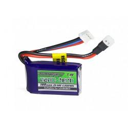 Turnigy nano-tech 180mAh 2S 7,4V 25C-50C LiPo akumuliatorių baterija