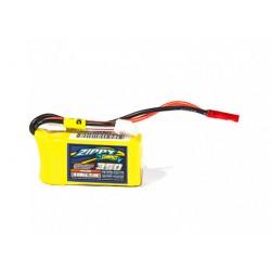 Zippy Compact 350mAh 7,4V 2S 20C-40C LiPo akumuliatorių baterija