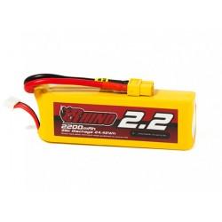 Rhino 2200mAh 11,1V 3S 25C LiPo akumuliatorių baterija