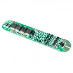 Ličio baterijų krovimo/iškrovimo apsaugos modulis 5s 15A