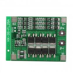 Balansuojantis ličio baterijų krovimo/iškrovimo apsaugos modulis 3s 25A