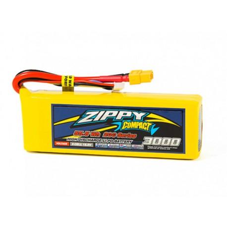 Zippy Compact 3000mAh 18,5V 5S 20C-40C LiPo akumuliatorių baterija