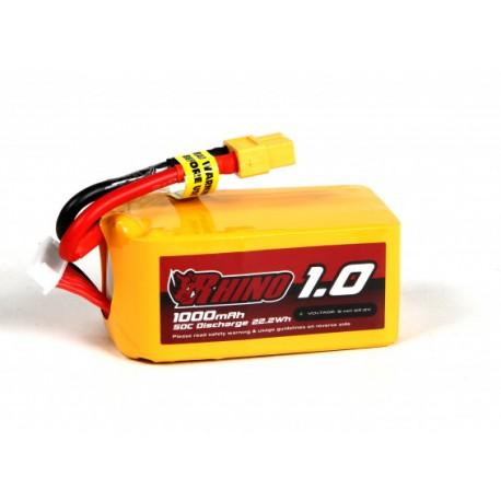 Rhino 1000mAh 22,2V 6S 35C-45C LiPo akumuliatorių baterija