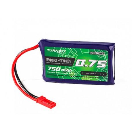 Turnigy nano-tech Plus 750mAh 1S 3,7V 70C-150C LiPo akumuliatorių baterija