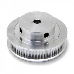 60 dantų krumpliaratis GT2 6mm sinchronizavimo diržams (ašis: 5 mm)