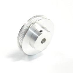 60 dantų krumpliaratis GT2 6mm sinchronizavimo diržams (ašis: 6,35 mm)