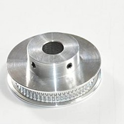 60 dantų krumpliaratis GT2 6mm sinchronizavimo diržams (ašis: 10 mm)