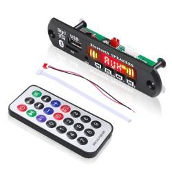 USB/microSD/FM/Line in/Bluetooth MP3, FLAC, WMA, APE audio grotuvas su garso įrašymo funkcija