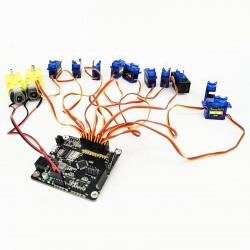 Robotų valdymo plokštė RosBot (Raspberry Pi kompiuteriams)